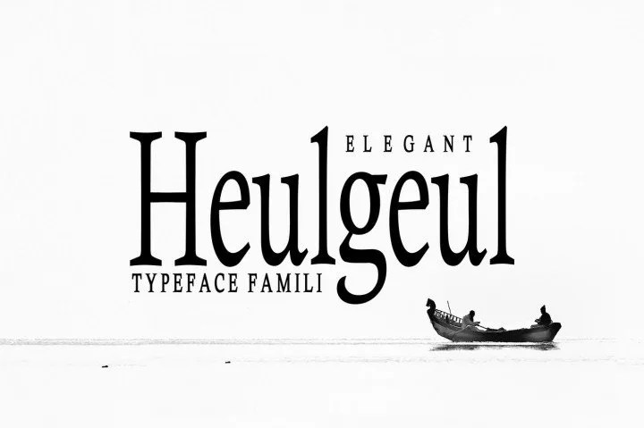 Heulgeul [3 Fonts] | The Fonts Master