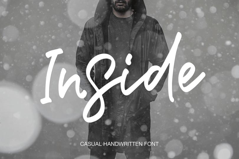 Inside Script [1 Font] | The Fonts Master