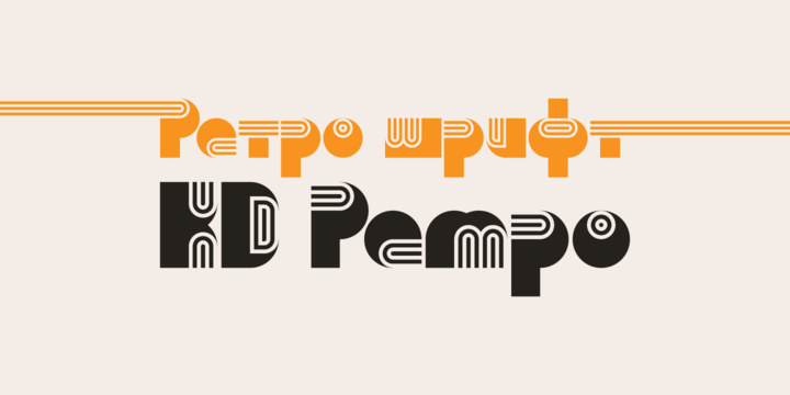 Kd Pempo [1 Font] | The Fonts Master