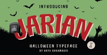Jarian [2 Fonts] | The Fonts Master