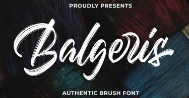 Balgeris [1 Font]