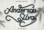 Anderson Silva [2 Fonts] | The Fonts Master