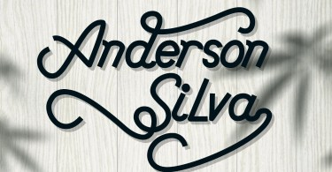 Anderson Silva [2 Fonts] | The Fonts Master