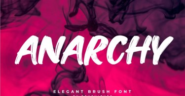 Anarchy [1 Font] | The Fonts Master