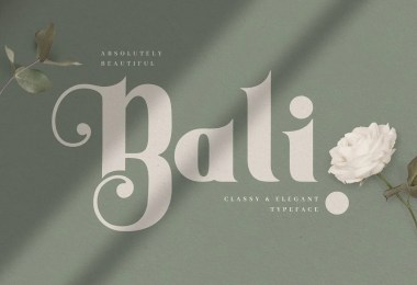 Bali [1 Font]
