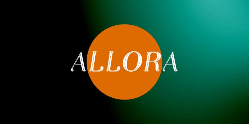 Allora [3 Fonts] | The Fonts Master