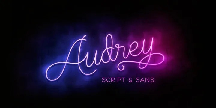 Audrey [9 Fonts] | The Fonts Master