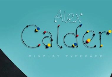 Alex Calder [2 Fonts]