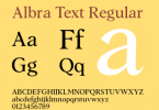 Albra Text [6 Fonts] | The Fonts Master
