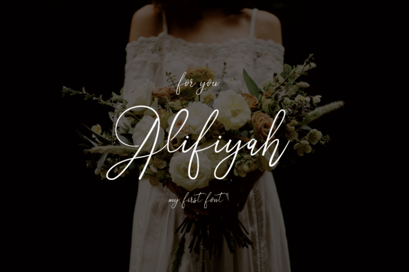 Alifiyah [1 Font] | The Fonts Master
