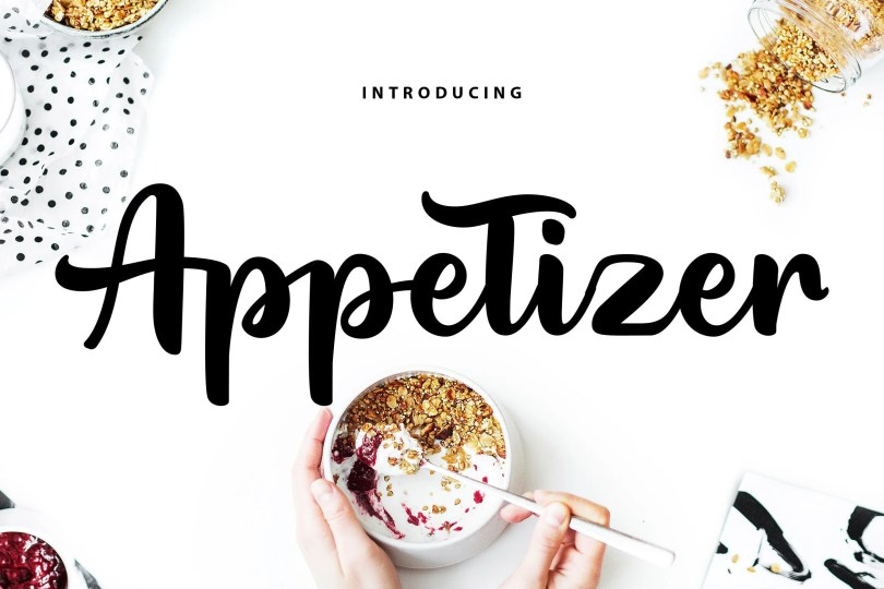 Appetizer [1 Font]