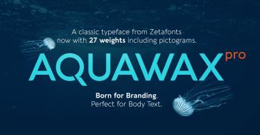 Aquawax Pro Super Family [27 Fonts] | The Fonts Master