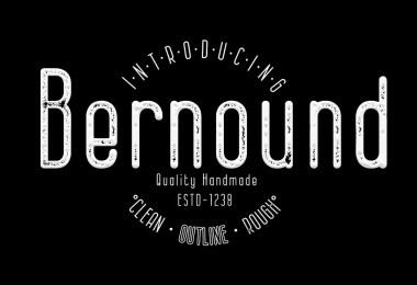 Bernound [3 Fonts]