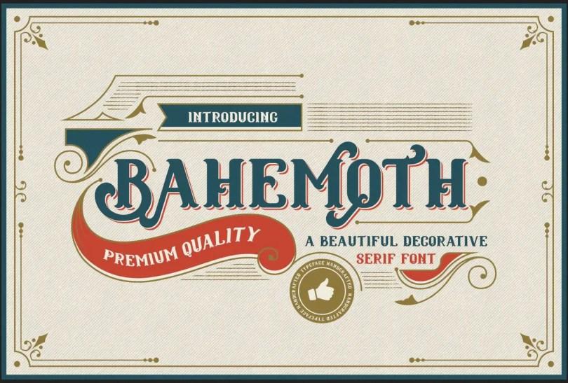 Bahemoth [1 Font]