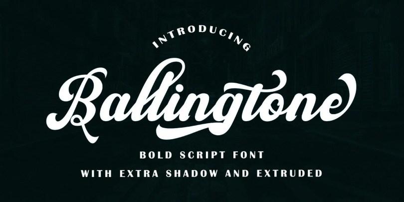 Ballingtone [6 Fonts]
