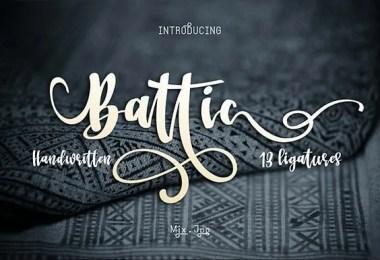 Battic [1 Font]
