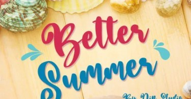 Better Summer [1 Font] | The Fonts Master