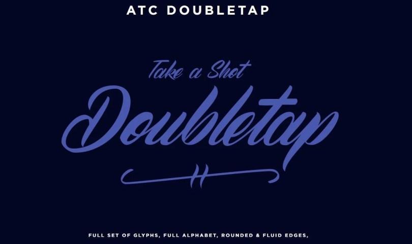 Atc Doubletap [1 Font] | The Fonts Master