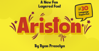 Ariston [3 Fonts] | The Fonts Master