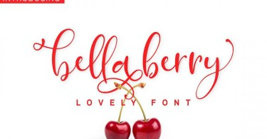BellaBerry [1 Font]