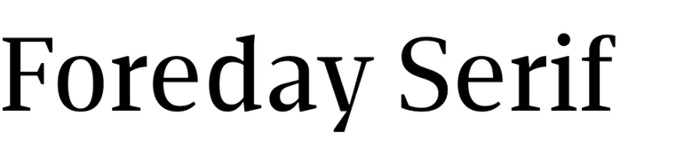 Foreday Serif Super Family [12 Fonts] | The Fonts Master