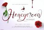 Honey Moon Midnight [3 Fonts] | The Fonts Master