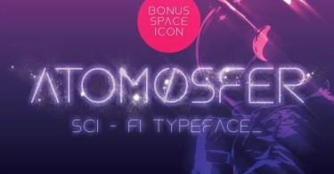 Atomosfer [1 Font] | The Fonts Master