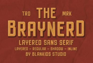 Braynerd [4 Fonts]