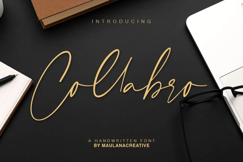 Collabro [1 Font] | The Fonts Master