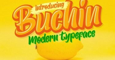 Buchin [1 Font] | The Fonts Master