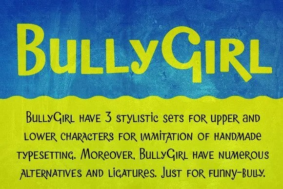 BullyGirl [3 Fonts]