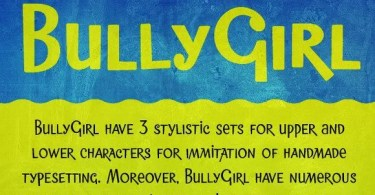 Bullygirl [3 Fonts] | The Fonts Master