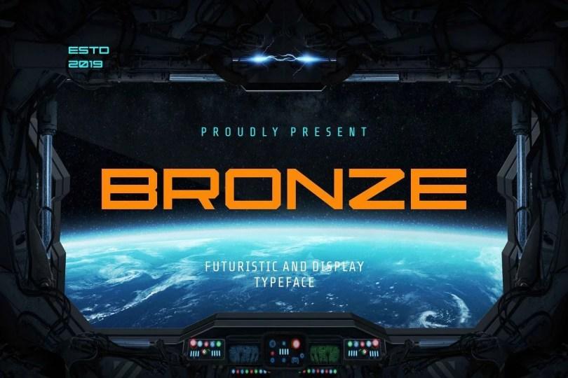 Bronze [1 Font] | The Fonts Master