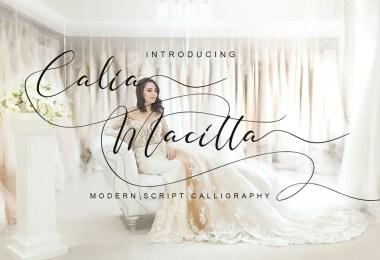 Calia Macitta [1 Font]