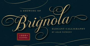 Brignola [2 Fonts]