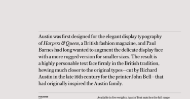 Austin Text Super Family [10 Fonts] | The Fonts Master
