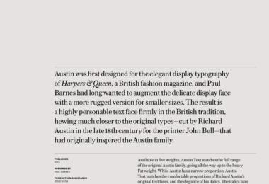Austin Text Super Family [10 Fonts]