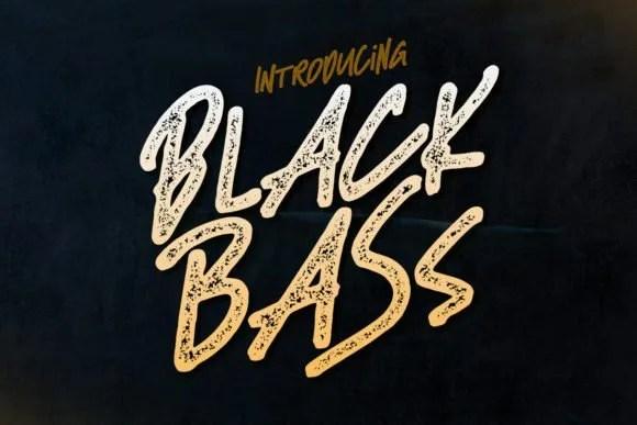 Black Bass [2 Fonts] | The Fonts Master
