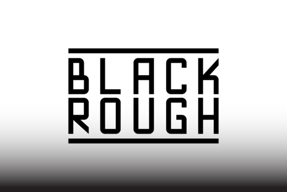Blackrough [1 Font]