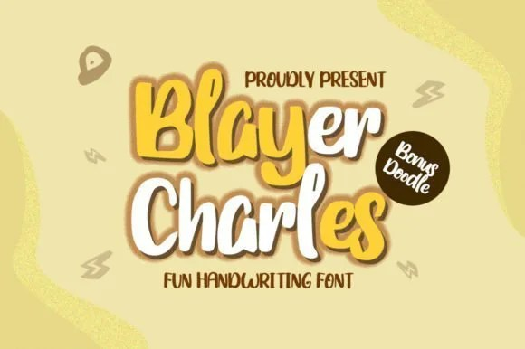 Blayer Charles [1 Font] | The Fonts Master