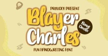 Blayer Charles [1 Font]