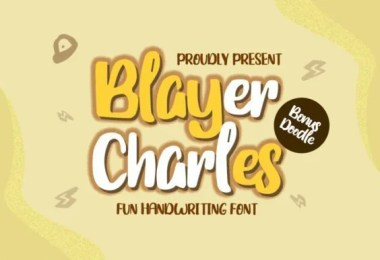 Blayer Charles [1 Font]