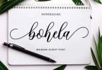 Bohela [1 Font] | The Fonts Master