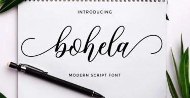 Bohela [1 Font]
