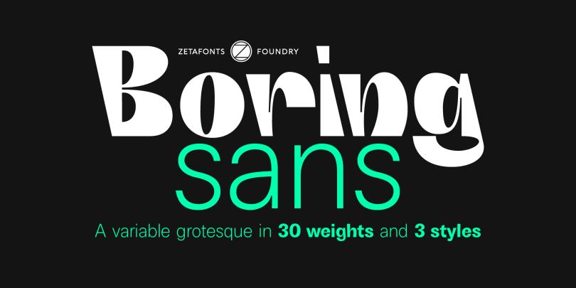 Boring Sans Super Family [32 Fonts] | The Fonts Master
