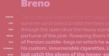 Breno Super Family [28 Fonts]
