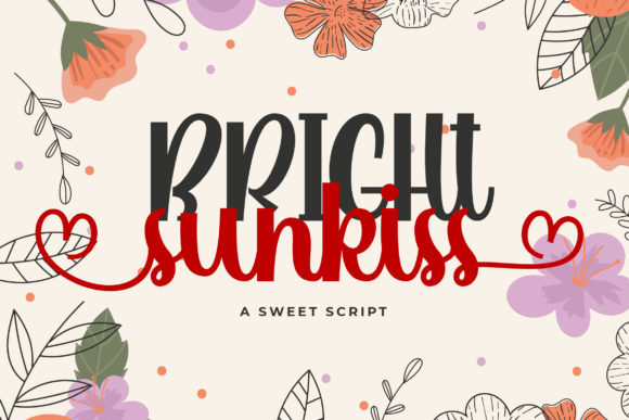 Bright Sunkiss [1 Font] | The Fonts Master