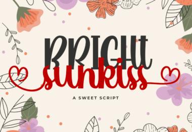 Bright Sunkiss [1 Font]
