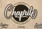 Chaprile [1 Font] | The Fonts Master
