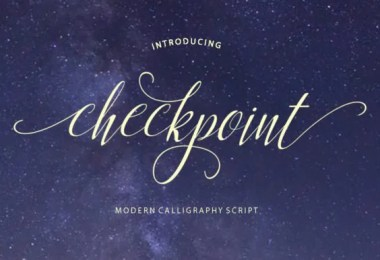 Checkpoint [1 Font]